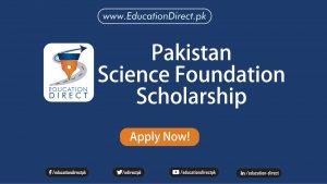 Pakistan Science Foundation SCho