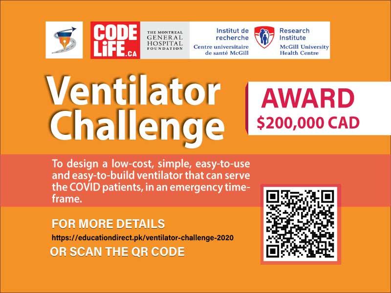 Code Life Ventilator Challenge
