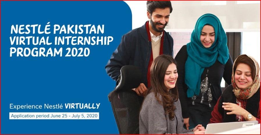 Nestle Pakistan Paid Internship 2020