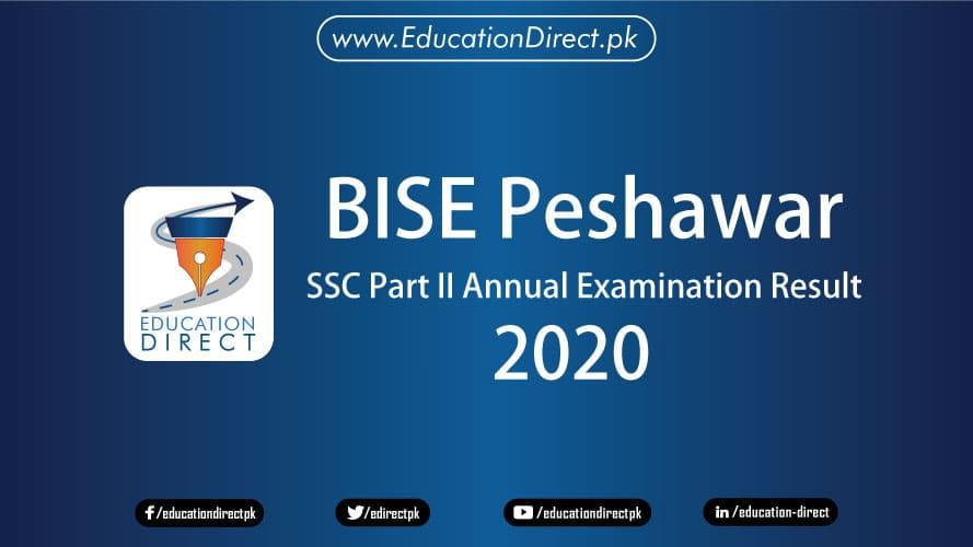 BISE Peshawar Matric Result 2020