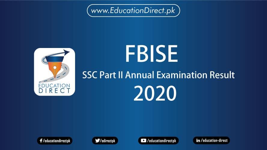 FBISE Matric Result 2020