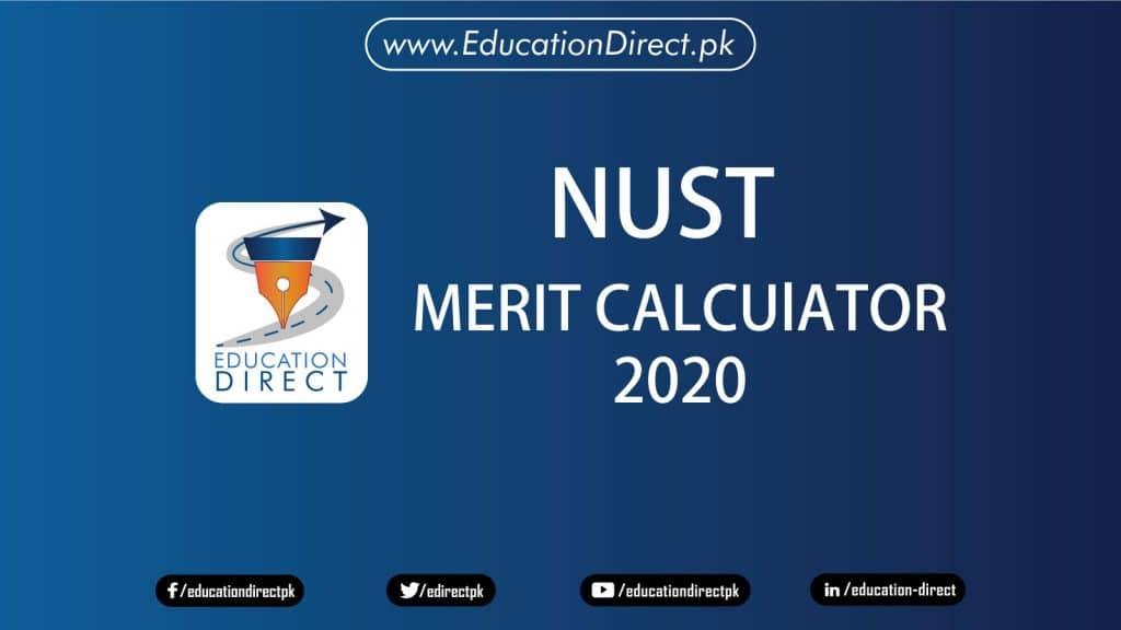 NUST Merit Calculator 2020