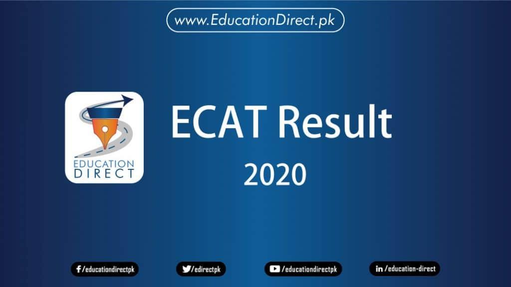 UET ECAT Result 2020