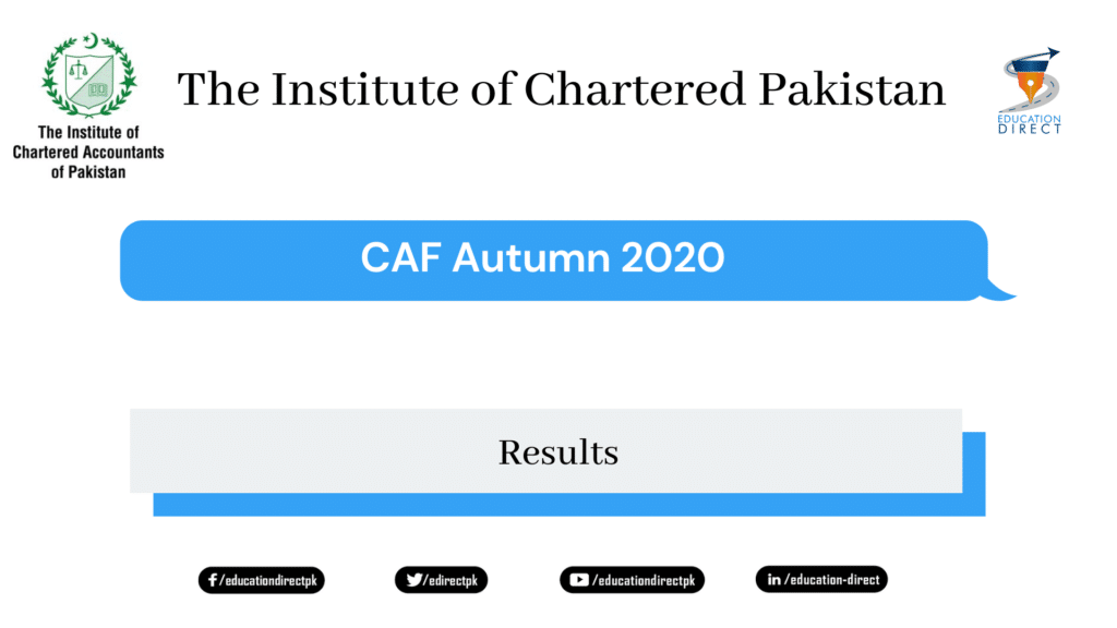 ICAP announces CAF Autumn 2020 Result