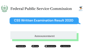 CSS Result 2020