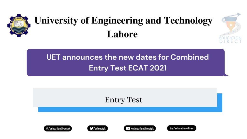 ECAT 2021 New Test Date